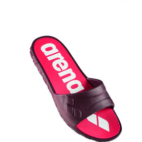 arena Watergrip Sandals Women red wine/white